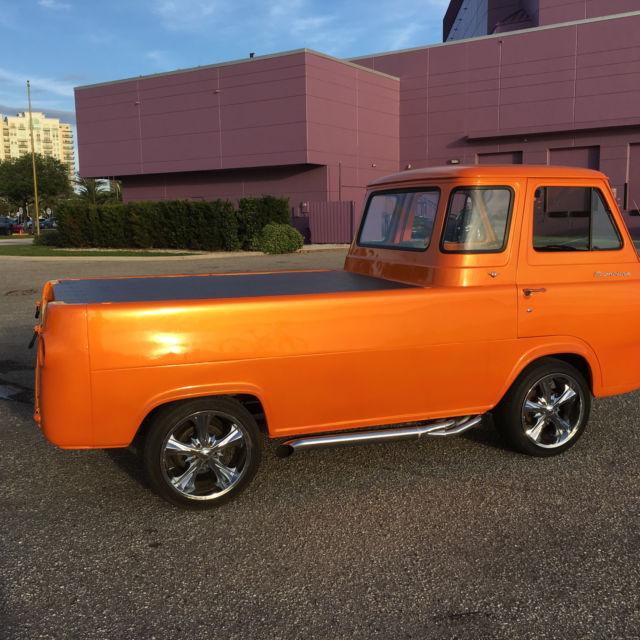 1966 ford econoline pickup rare for Garage ford orange