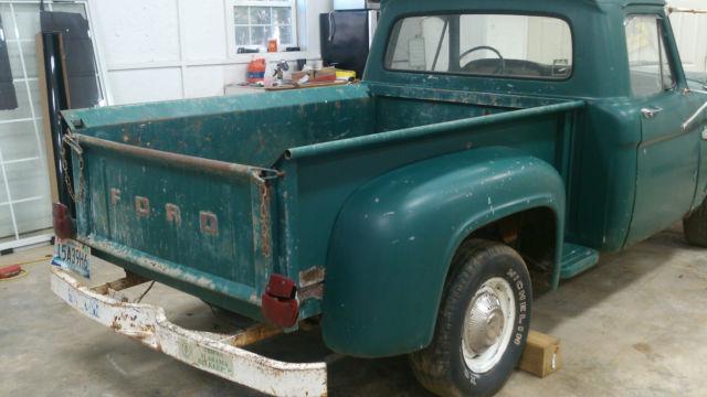 1966 Ford F100 Short Wheel Base Stepside Truck Original