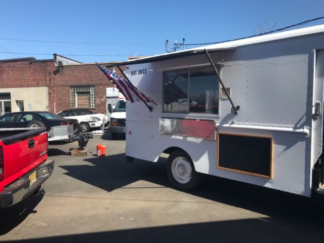 Hot Dog Truck Steam Table