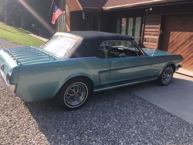 1966 Ford Mustang Convertible 4 Speed 289 V8 Manual