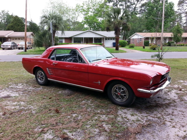 1966 FORD MUSTANG COUPE VERY SOLID CAR 1965 1967 1968