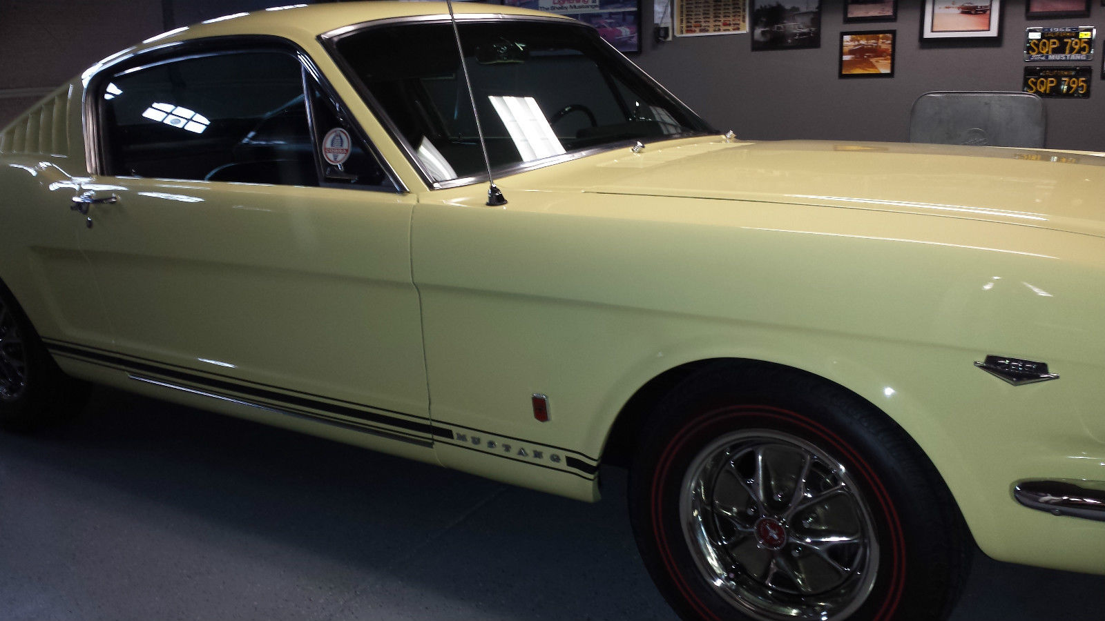 1966 ford mustang k code gt fastback for sale in fresno california united states. Black Bedroom Furniture Sets. Home Design Ideas