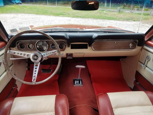 Ford Mustang Rare Emberglow Orange Deluxe Pony Interior K Mile Car