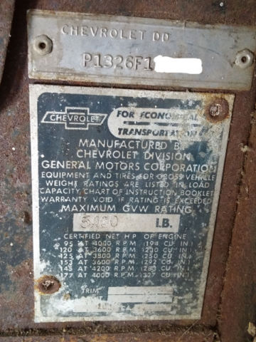 1966 Grumman-Olsen Step Van (Chevy Chassis) for sale in Ada