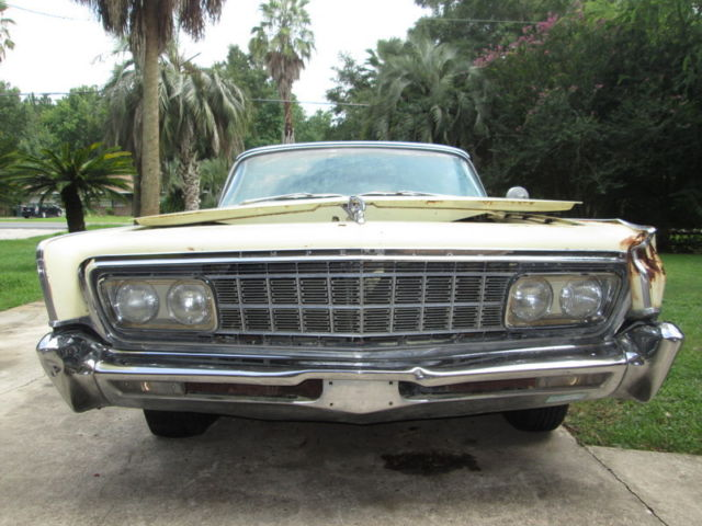 1966 Imperial Crown Convertible 66 Rare Solid Restorable