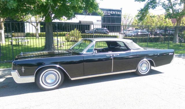 1966 lincoln continental convertible suicide door a c pw pb ps. Black Bedroom Furniture Sets. Home Design Ideas