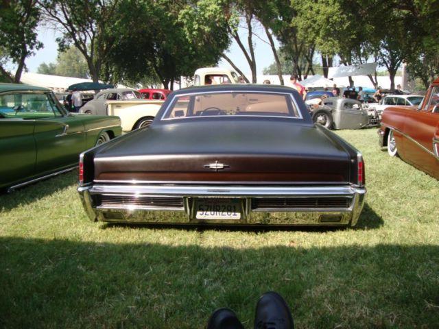 1966 LINCOLN CONTINENTAL CUSTOM 2 DOOR HARD TOP for sale in