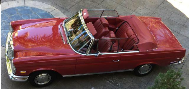 1966 mercedes 250se cabriolet 4 5 restomod los angeles for Mercedes benz used parts los angeles