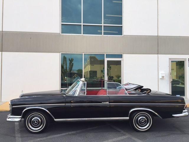 1966 mercedes 300se convertible fully restored for sale in for Mercedes benz sherman oaks