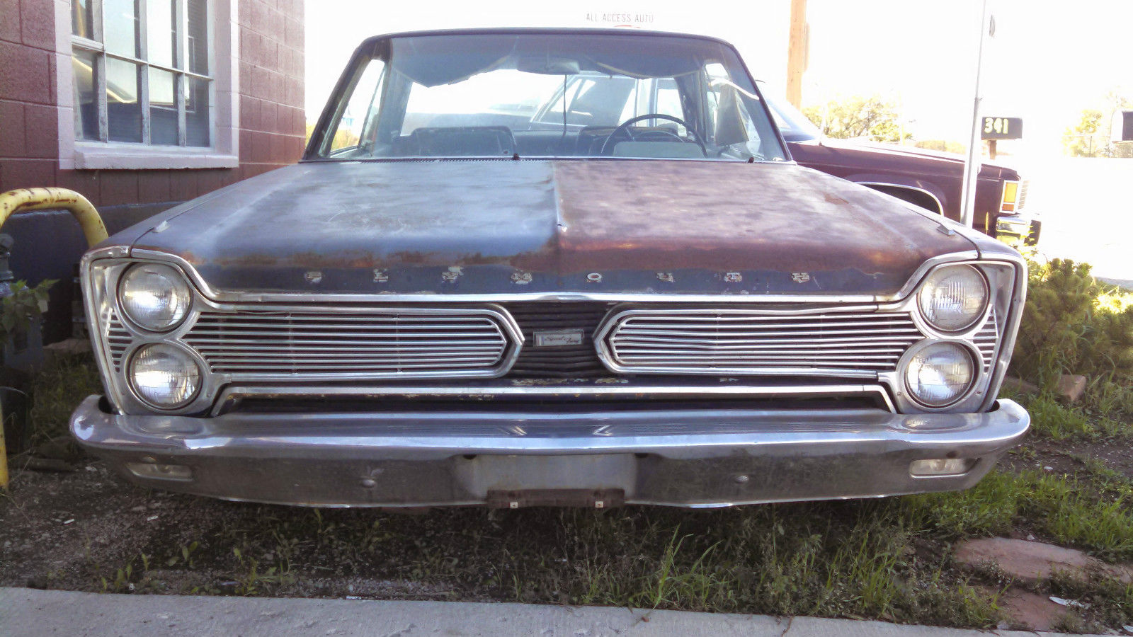 1966 plymouth sport fury 383 runs and drives mostly. Black Bedroom Furniture Sets. Home Design Ideas