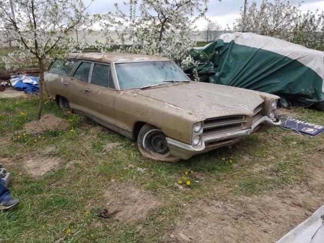 1966 Pontiac Bonneville Safari Wagon 4 Door 6 4l