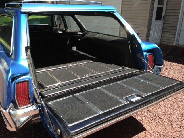 1966 Pontiac Bonneville Station Wagon For Sale Photos