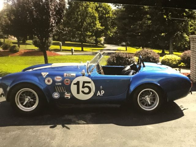 1966 Shelby 427 Cobra Roadster Replicar W  Hardtop For Sale