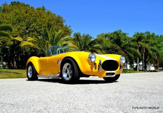 1966 Shelby Cobra 427 Body 14 137 Miles Yellow Convertible