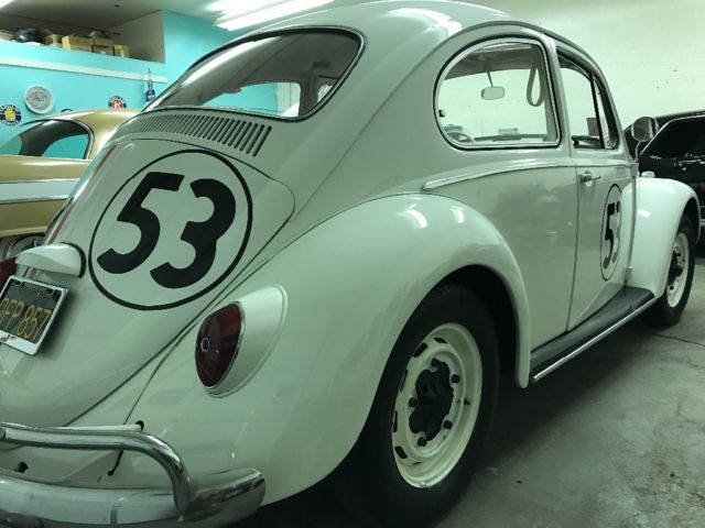 1966 volkswagen beetle herbie the love bug