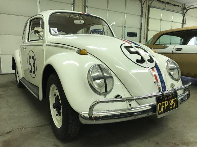 1966 Volkswagen Beetle Herbie the love bug