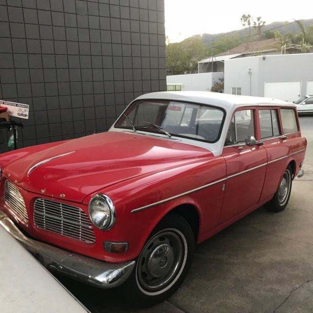 1966 volvo 220 122 amazon station wagon original california car 4 speed manual. Black Bedroom Furniture Sets. Home Design Ideas