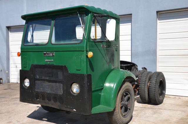 1966 White Truck - Compact - Cab Over COE Semi Truck Model