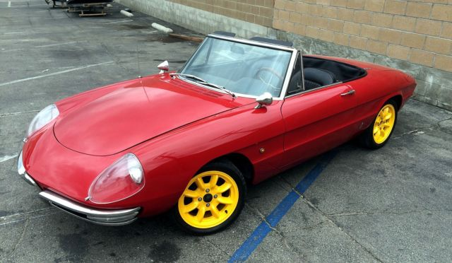 Alfa Romeo Duetto Spider Door Upgrade Restored - 1967 alfa romeo spider for sale