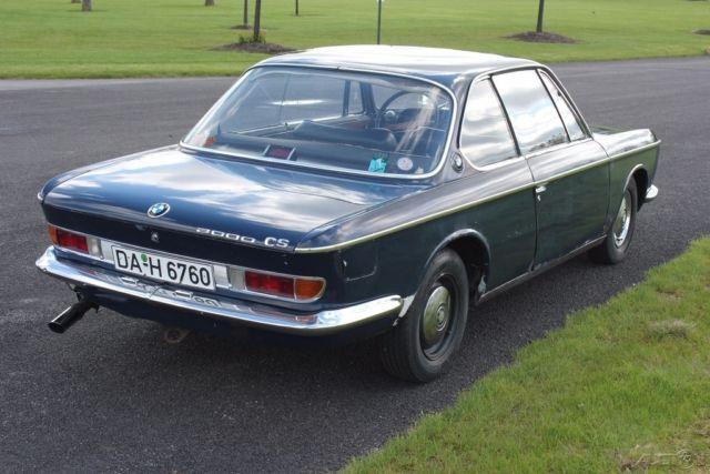 Bmw Vin Service History >> 1967 BMW 2000CS Coupe
