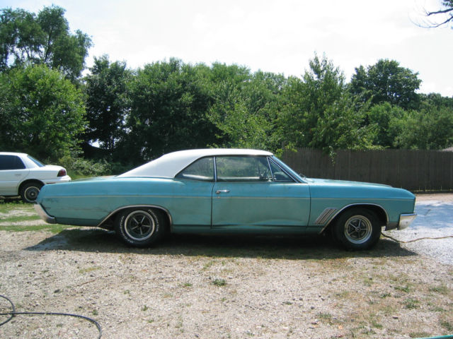 1967 buick gs 400 rust free numbers matching fresh engine and transmission for sale in osceola. Black Bedroom Furniture Sets. Home Design Ideas