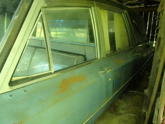1967 Cadillac Fleetwood Hearse Ambulance for sale in Greer
