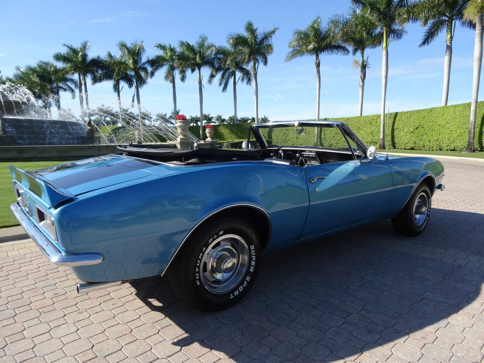 1967 Camaro Convertable V8 4 Speed Trans For Sale In Fort