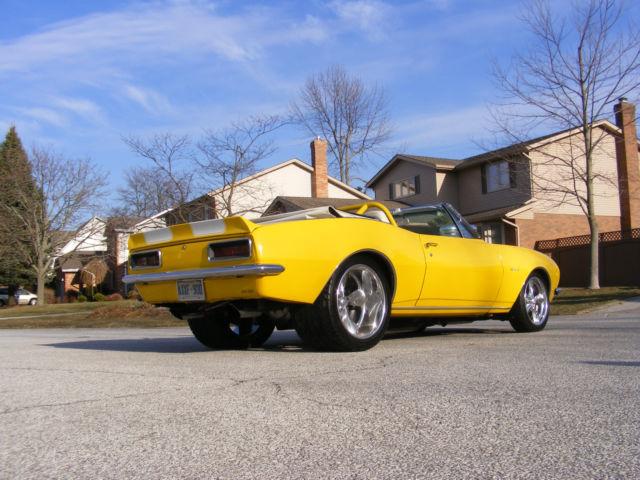 1967 Camaro Convertible Pro Street Pro Touring Hot Rod