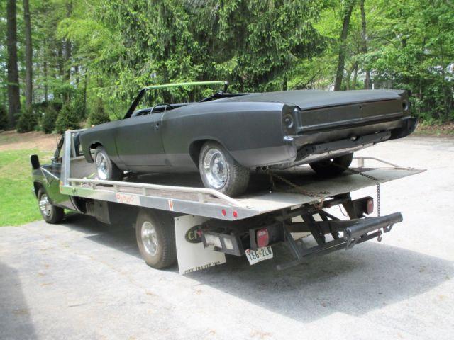 1967 Chevelle Convertible Number Matching Malibu 67
