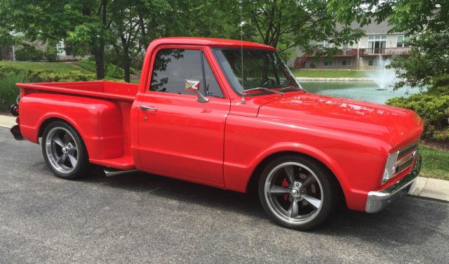 1967 chevrolet c10 stepside pickup for sale in mason ohio. Black Bedroom Furniture Sets. Home Design Ideas