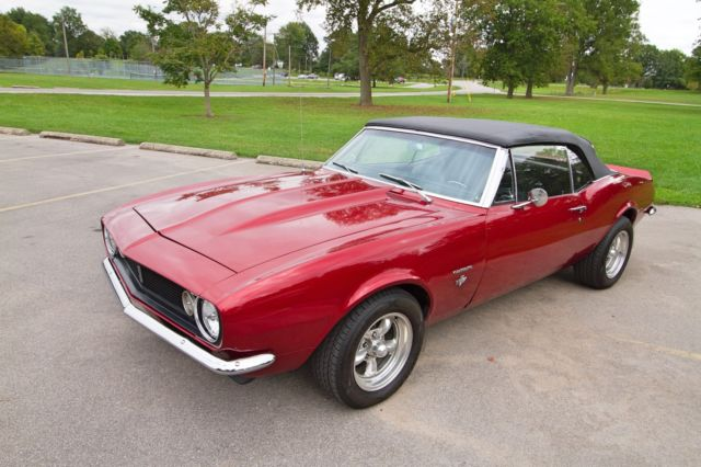 1967 chevrolet camaro convertible 350 crate motor with 327 badging. Black Bedroom Furniture Sets. Home Design Ideas