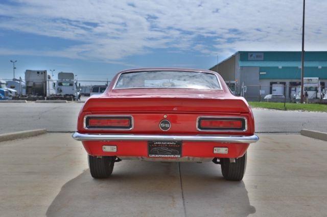 1967 Chevrolet Camaro Rs Ss 396 4 Speed A C Pw Disc Brake