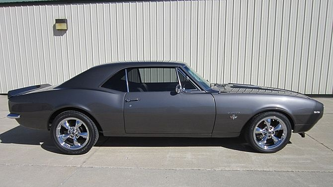 1967 CHEVROLET CAMARO SS PROFESSIONALLY RESTORED GRAY WITH