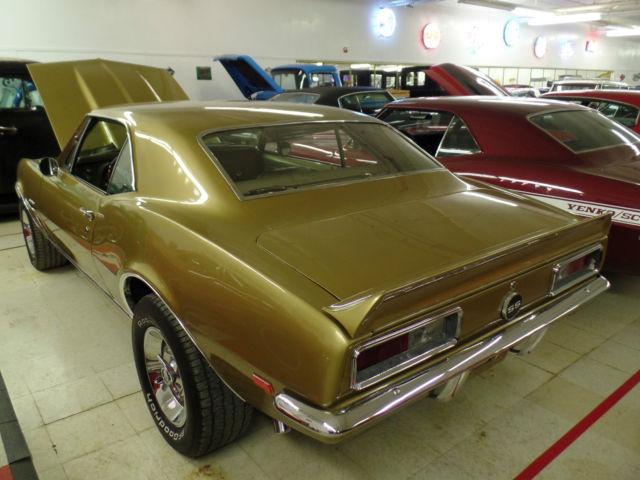 1967 Chevrolet Camaro Ss Rare Color Combo Working Ac Car