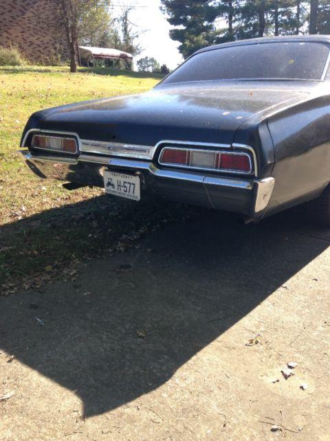 1967 Chevy Impala Craigslist >> 1967 Chevrolet Impala 4 Door For Sale In Greensburg