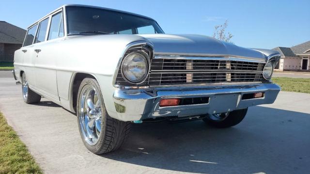 1967 Chevy II NOVA Wagon Restomod 67 For Sale In Abilene Texas