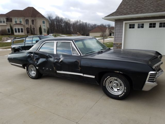 1967 Chevy Impala 4 Door Supernatural Car