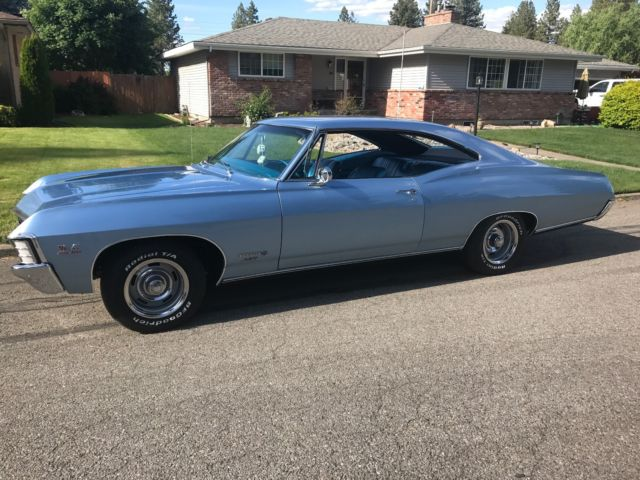 1967 Chevy Impala Ss 427 Bbc Matching Number Car For Sale