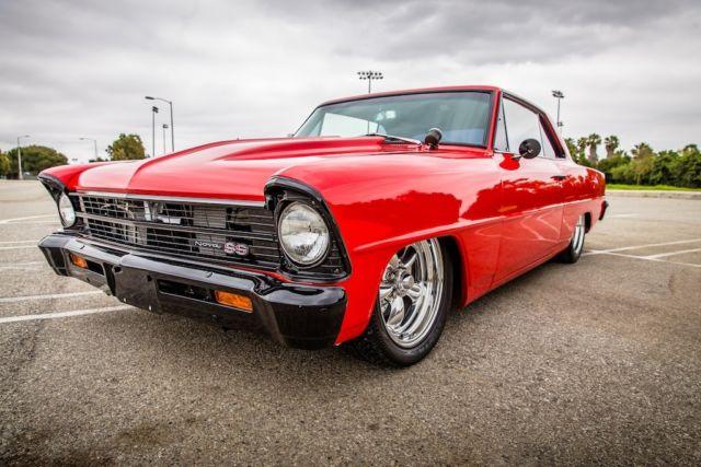 1967 Chevy Nova Ss Shoebox Pro Touring Chip Foose Inspired