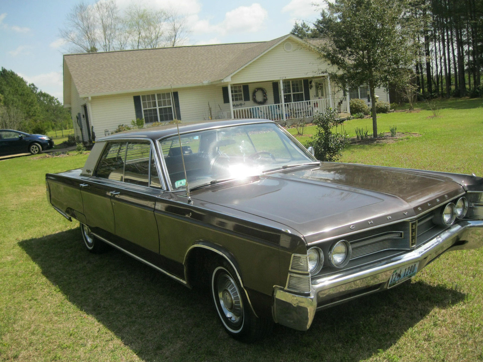 1967 chrysler new yorker base 7 2l 4 door hardtop for sale in ochlocknee georgia united states. Black Bedroom Furniture Sets. Home Design Ideas