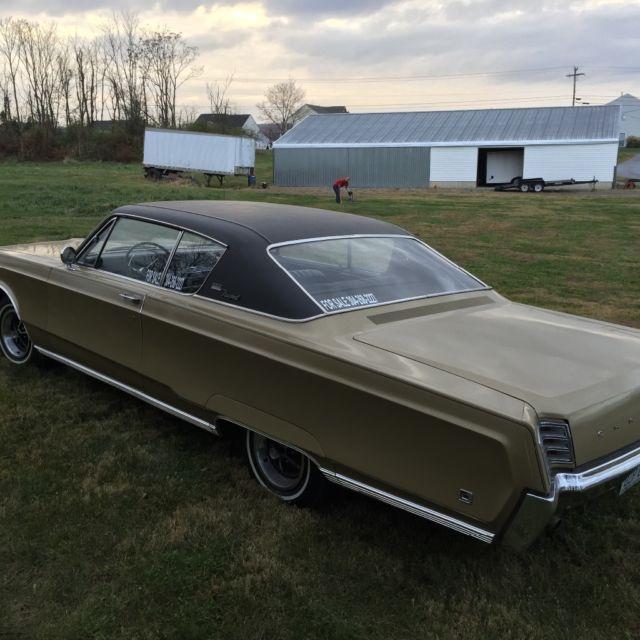 1967 Chrysler Newport Hardtop 52kmi Not A Hemi Mopar For