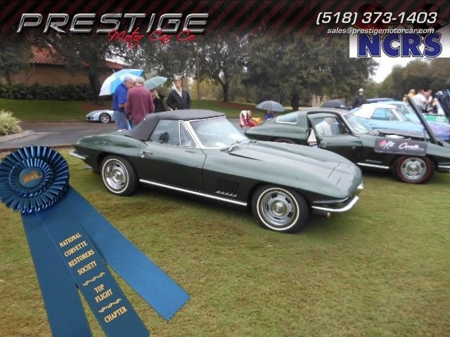 1967 Corvette ConvertibleA/C Air Conditioning NCRS Top Flight South