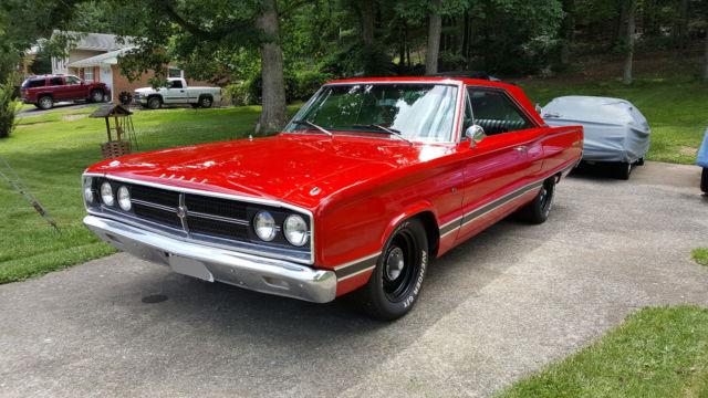1967 Dodge Coronet 500 318 4bbl for sale: photos ...  1967 Dodge Coro...