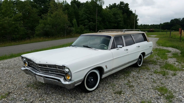 1967 Ford Country Sedan Station Wagon Metal Flake Squire