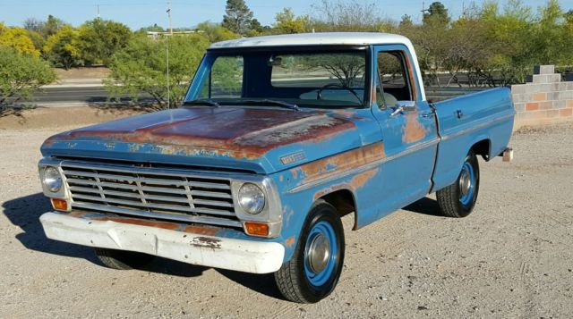 1967 Ford F100 Short Bed Patina Truck 67 Shortbed F 100