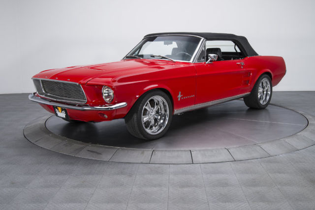 1967 Mustang Red Convertible