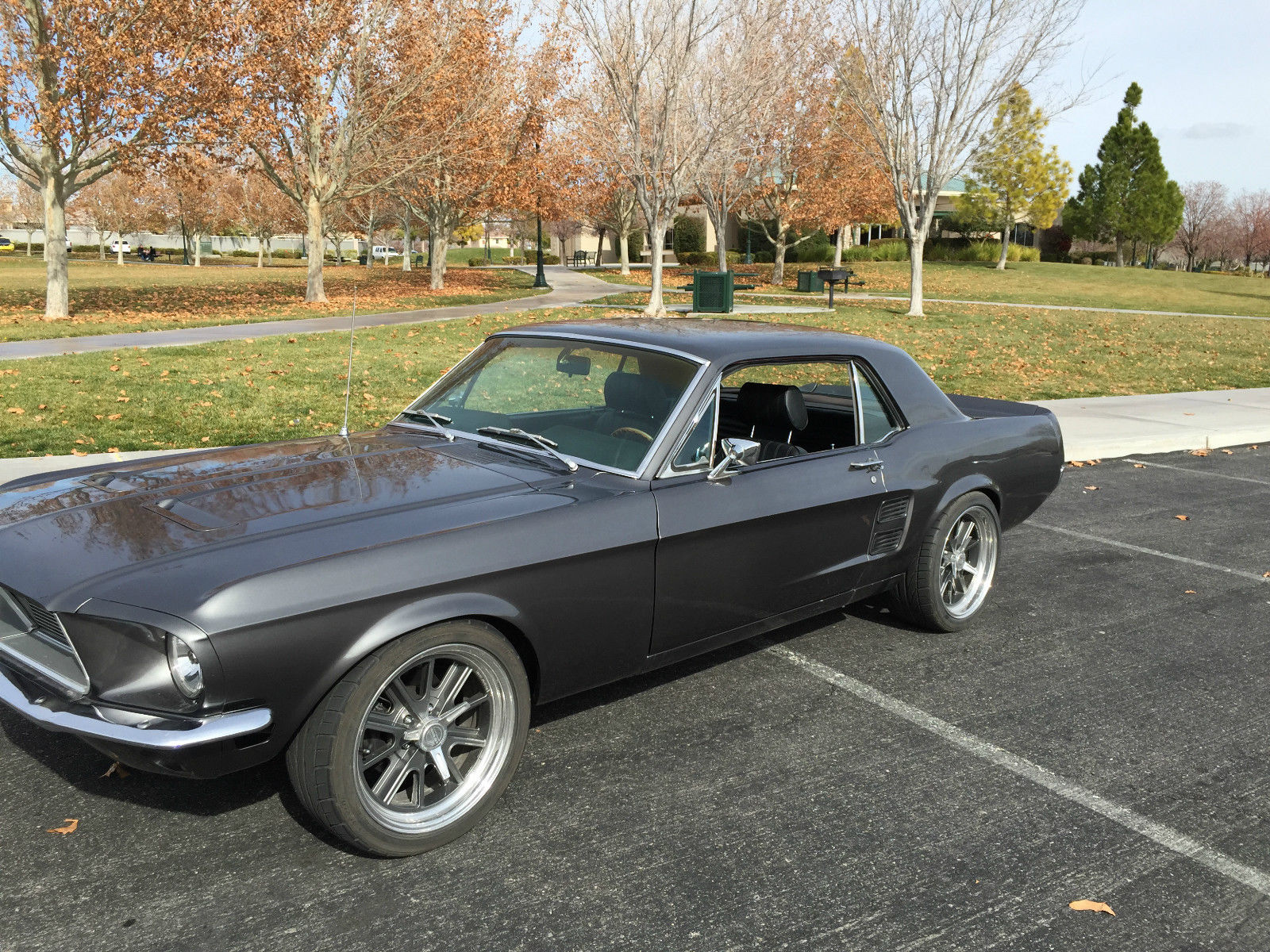 1967 ford mustang coupe restomod whi pro 289 rackpinion disc brakes
