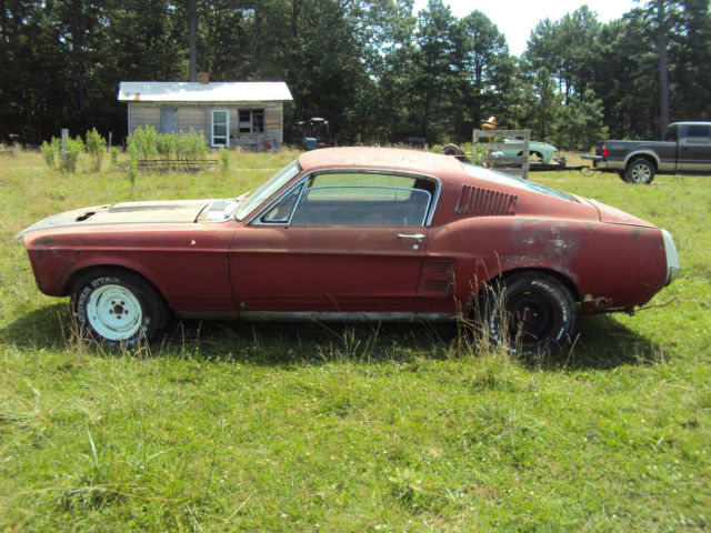 1967 ford mustang gt fastback project 67 eleanor rare c code gt for sale in raymondville. Black Bedroom Furniture Sets. Home Design Ideas