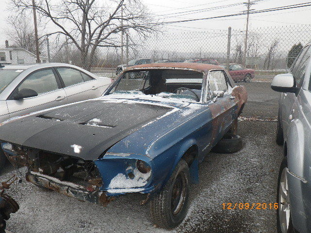 1967 Ford Mustang Parts Only Or Rat Rod Project