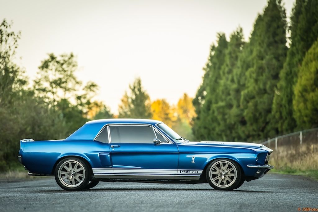 1967 Ford Mustang Shelby Tribute Hardtop Very Custom Cool